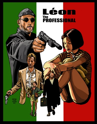 LeonTheProfessionalItalianPoster