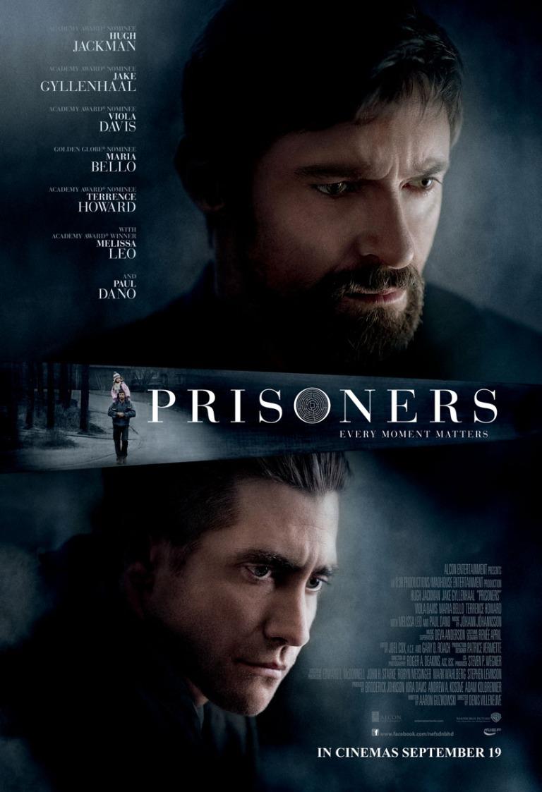 prisoners movie poster malaysia 2013 hugh jackman jake gyllenhaal