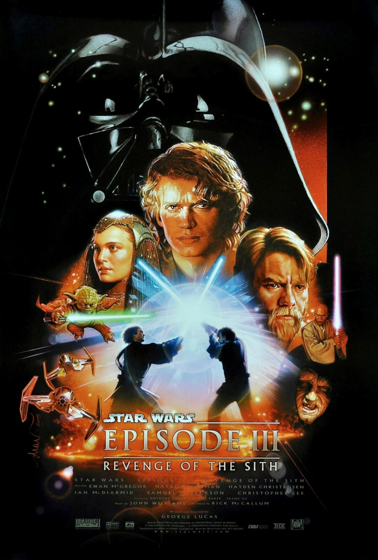 Star Wars - Revenge Of The Sith (2005) by Drew Struzan