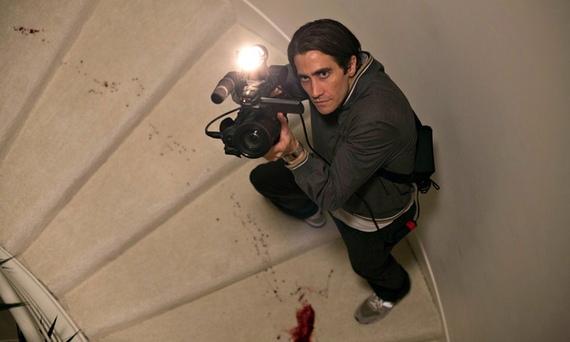 Jake Gyllenhaal plays an unscrupulous news cameraman in the thriller Nightcrawler