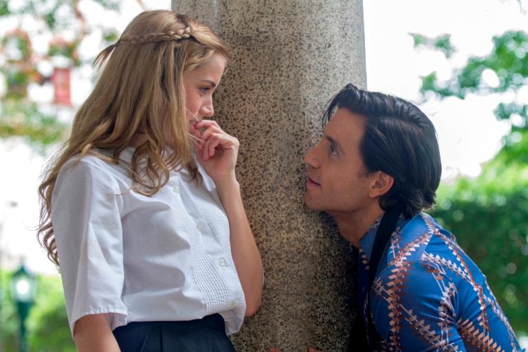 Ana de Armas and Edgar Ramírez star in HANDS OF STONE
